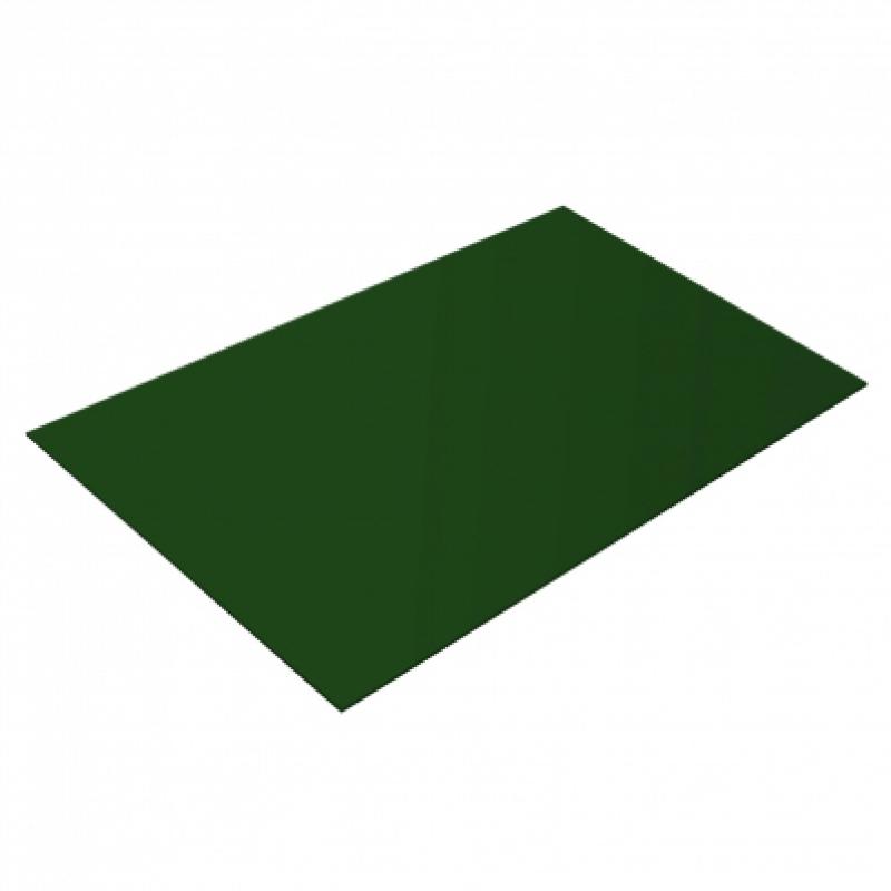 Плоский лист PE, 0,4 мм, RAL 6005