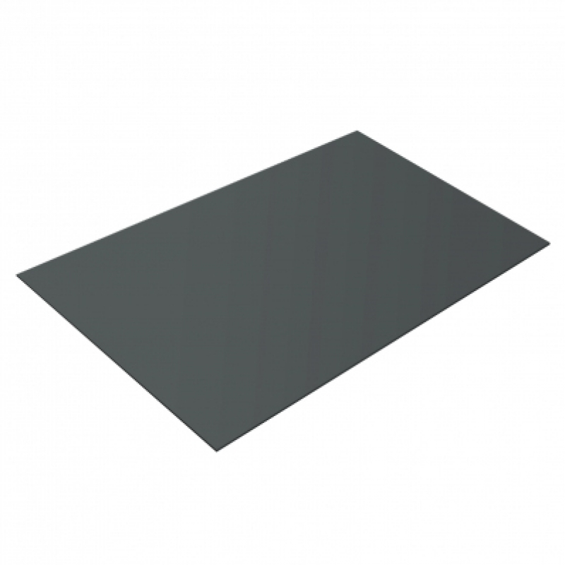 Плоский лист PE, 0,45 мм, RAL 7005