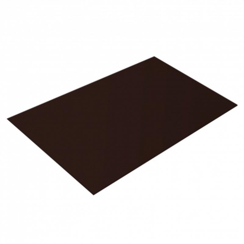 Плоский лист SSAB GreenCoat Pural, 0,5 мм, RR 887
