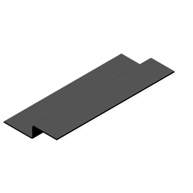 Профиль вертикальный промежуточный Z-Обр. 30х20х40, ОКР, 1,2мм