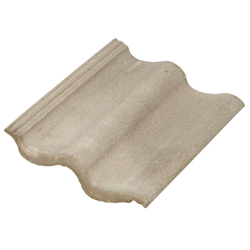 Цементно-песчаная черепица BalticTile Sea Wave цвет: Серый эконом (007)