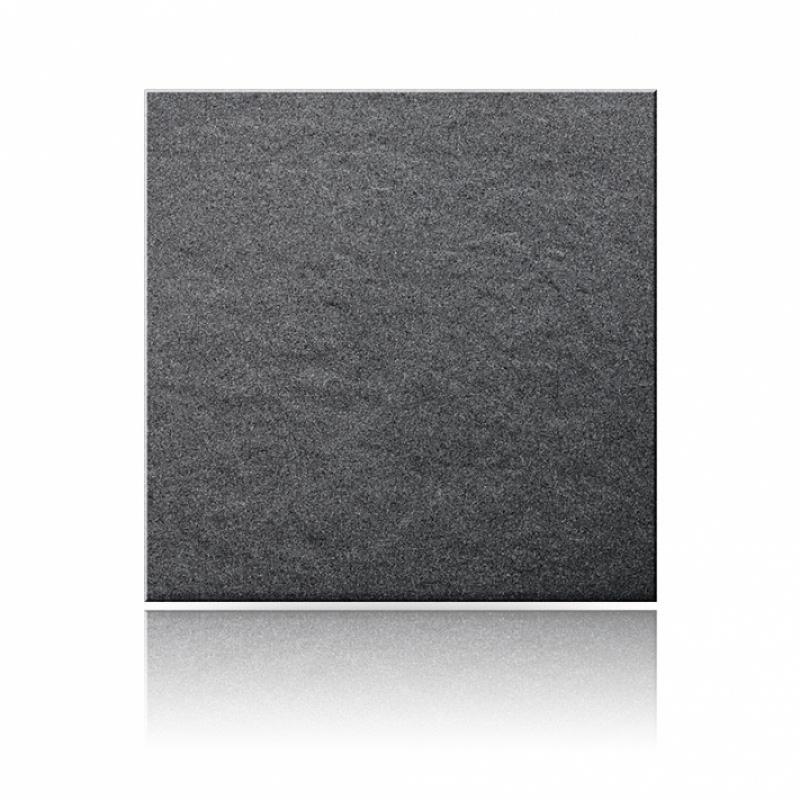 Керамогранит плитка 300х300х8 мм, Рельеф, Соль-Перец, Цвет: Чёрный U111M RELIEF