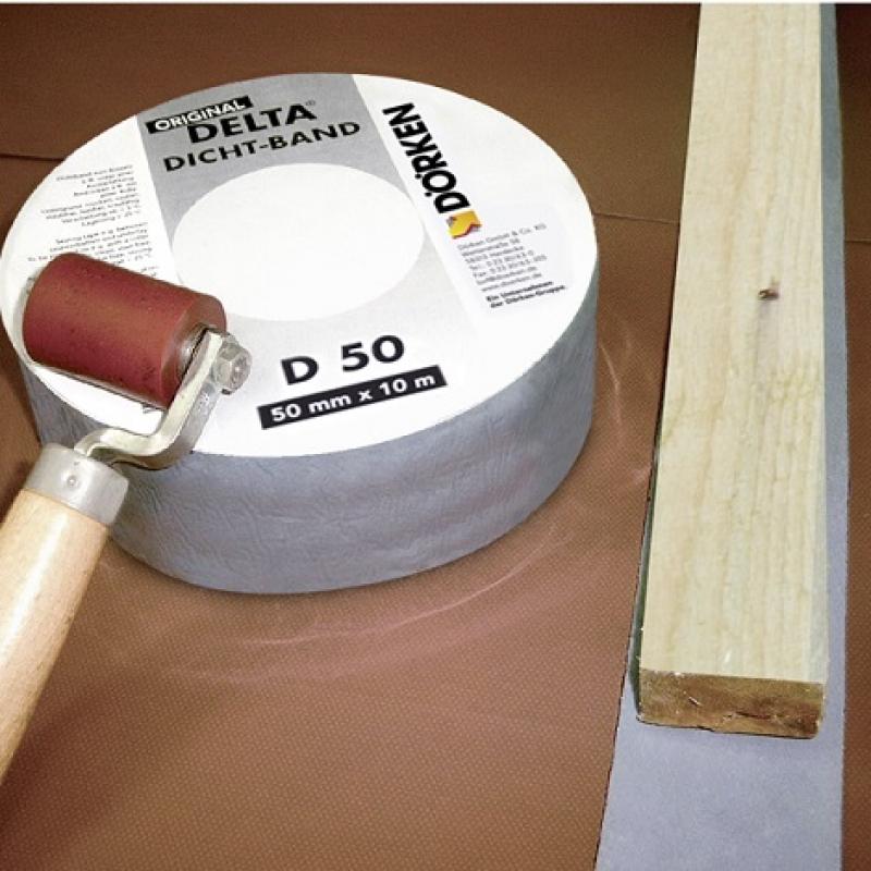 DELTA-DICHT-BAND D 50 - Уплотнительная лента под контробрешётку.
