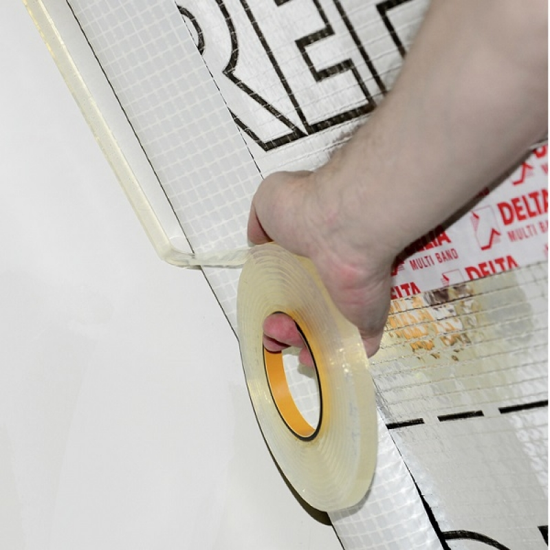 DELTA-TIXX VDR Клеевой шнур для воздухонепроницаемого примыкания пароизоляционных плёнок к стенам