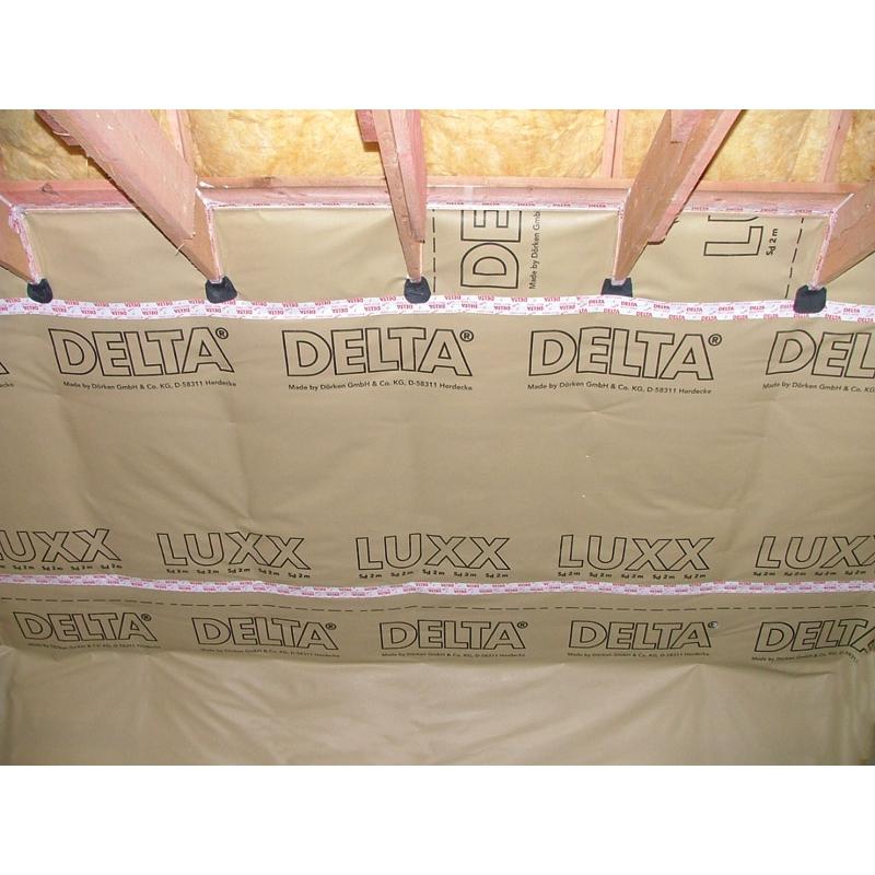 DELTA-LUXX Пароизоляционная плёнка с ограниченной паропроницаемостью