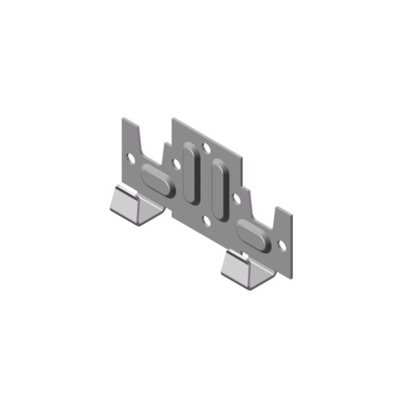 Пластина кляммерная стартовая AR П39х10х1,2 мм, ОЦ