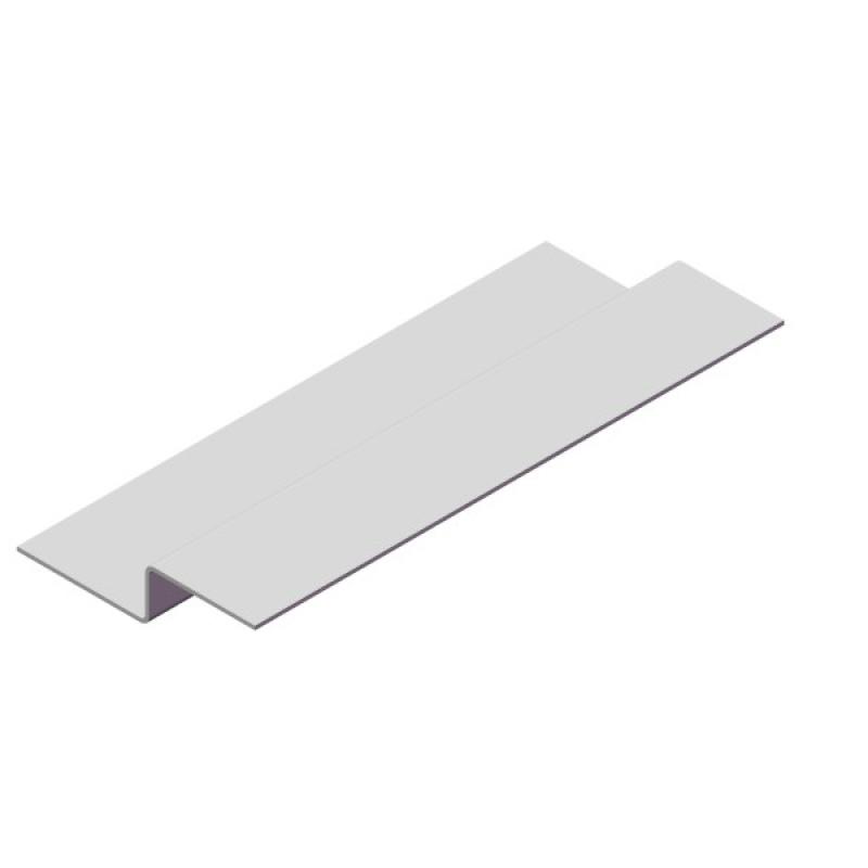 Профиль вертикальный промежуточный Z-Обр. 20х20х40, ОЦ, 1,2мм