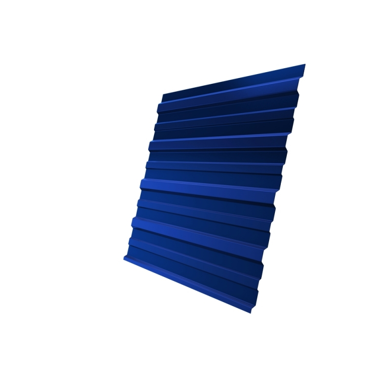 Профнастил C10 - 1100мм, 0,7мм, PE, RAL 5005