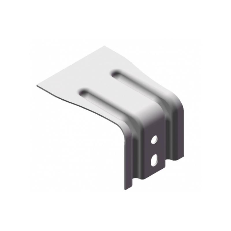 Крепление стеновое усиленное AR П180х80х105Пр ОЦ, 2 мм
